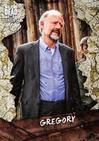 Walking Dead Season 8 Part 1 CHARACTER Insert Card C-16 / GREGORY