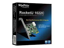 Highpoint RocketU 1022c 2-port USB 3.0 Pci-express 2.0 X1 HBA Card