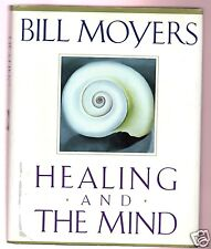 HEALING AND THE MIND- PBS SERIES BILL MOYERS SIGNED 1ST-HB- VERY GOOD CONDITION