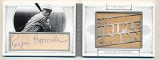 2015 National Treasures * ROGERS HORNSBY * Jumbo Bat Auto Booklet * #1/1