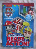 PAW PATROL STICKER PAD - BRAND NEW