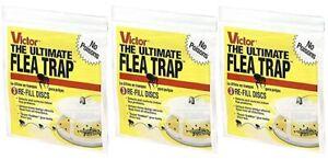 Victor Ultimate Flea Trap Refill  M231 Flea Control 9 Traps