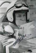 John Surtees Hand Signed Honda F1 12x8 Photo.