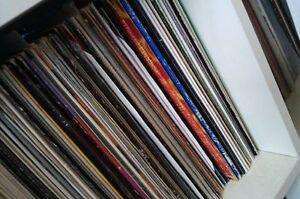 "10 x 12"" trance progressive house  vinyl records job lot"