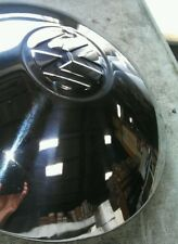 Vw volkswagen bug beetle karmann ghia thing bus chrome hub caps stainless steel