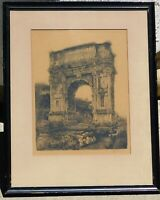 Bela Sziklay b.1911 etching pencil signed, 13 x 10