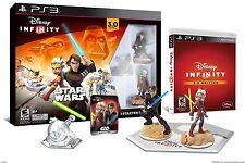 NIB Disney Infinity STAR WARS 3.0 Starter Pack PS3 Edition - Ships Same Day