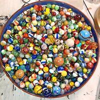 Vintage & Contemporary 25$=25 Marbles Akro Peltier Jabo Etc+Freebies Every Order