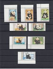 TIMBRE STAMP 8 MONGOLIE Y&T#1765-72 OURS BEAR PANDA NEUF**/MNH-MINT 1990 ~A06