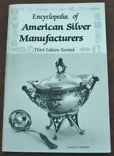 Encyclopedia of American Silver Manufacturers Rainwater 3rd Ed Revised 1986 PB