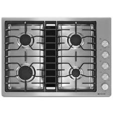 "Jenn-Air 30"" JX3 Stainless Steel Gas Downdraft Cooktop JGD3430BS"