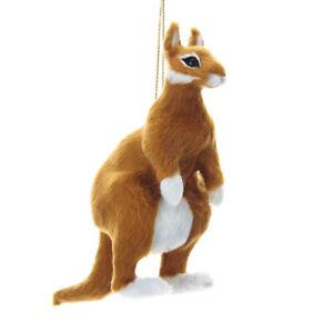 Furry Kangaroo Ornament