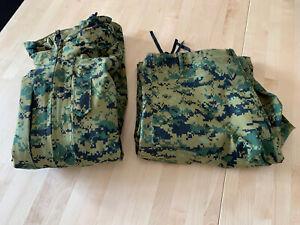 USMC Marpat Goretex Anzug Medium-Long Parka Jacke Hose Neu Und Unbenutzt