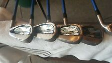 XXIO X IRONS 5,6,7,8,9,P AND A WEDGE - NICE CONDITION
