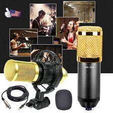Bm-800 Condenser Microphone Mic Studio Sound Recording Dynamic & Shock Mount Us