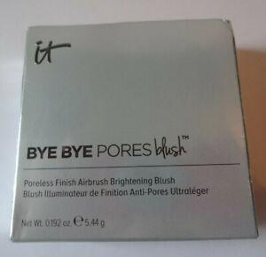 it Cosmetics Bye Bye Pores Blush SWEET CHEEKS Brightening 0.192 oz 5.44 gm NIB