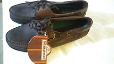 NEW! GENUINE DOCKMASTERS MEN'S SHOES  HAND SEWN GENUINE LEATHER UPPER SIZE 9 1/2