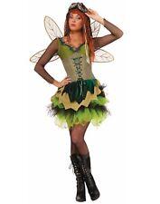 Steampunk Sprocket Pixie Womens Adult Fairy Princess Costume-Xs/S