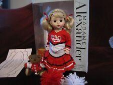"""Madame Alexander 150th Anniversary FAO Schwarz Cheerleader 8"""" Doll"""