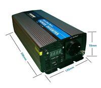 Inversor Onda Pura 1000W 12v LCD + Mando 25M Distancia ideal para Autocaravanas