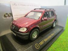 MERCEDES-BENZ M-CLASS bordeaux au 1/43 YATMING 94243C voiture miniature