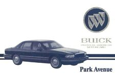 Service Repair Manuals For Buick Park Avenue For Sale Ebay