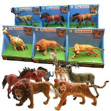 Toy Wild Animals Safari Zoo Jungle Action Figures Set Kids Children BOXED - NEW