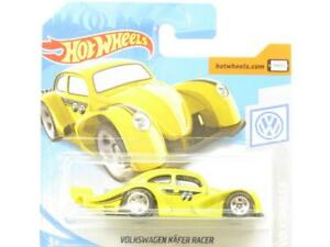 Hot Wheels Volkswagen Kafer Racer Yellow 46/250 Short Card 1 64 Scale Sealed New