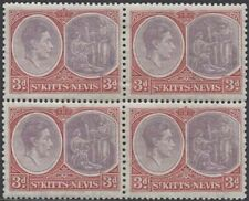 St. Kitts and Nevis Block Stamps