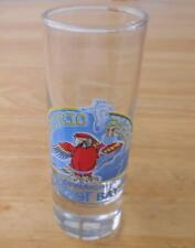 Captain Morgan's Parrot Bay Electric Parrot Tall Shot Glass