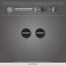 6033 - Felt Bicycle Handlebar Bar End Plug Stickers - Decals