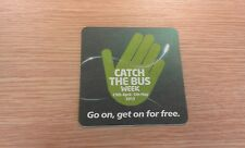 Catch The Bus Week - 29th April-5th May 2013 - Beermat