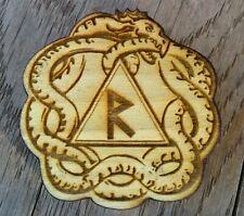 Viking Elder Futhark Rune set,  Pocket Rune Set jormungand serpent dragon, norse