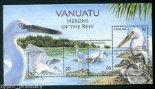 "Vanuatu - "" BIRDS ~ HERONS OF THE REEF "" MNH MS 2007 !"