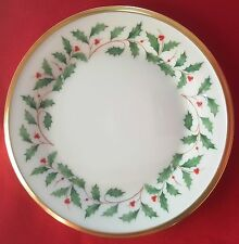 """Lenox China Holiday (Dimension) 6 3/8"""" APPETIZER / SMALL SIDE PLATE - MINT!"""