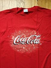 Coca-Cola 100% Cotton T-shirt, Size M, New Sealed in bag