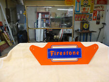 VINTAGE FIRESTONE METAL-SIGN-MINT-CONDITION-NOS