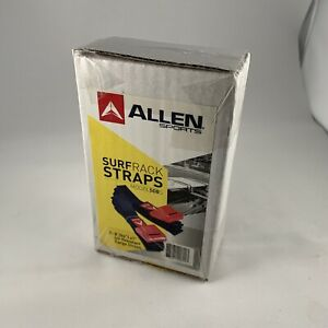 508S Allen Sports 8 Ft Polyester Cargo Surf rack Straps Padded Cam Buckles