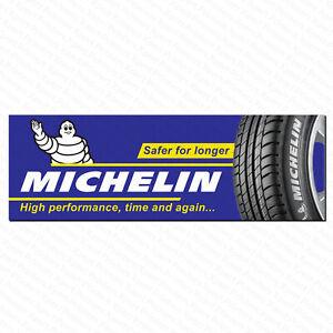 Michelin Tyres PVC Vinyl Banner Garage Business Workshop Trackside Sign 6ftx2ft