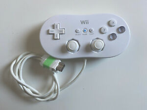 Preowned Genuine Official Nintendo Wii Classic Controller Free P&P Retro Gaming