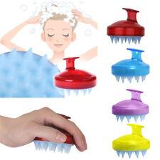 Durable Silicone Scalp shampoo Shower Washing Hair Massage Massager Brush Comb