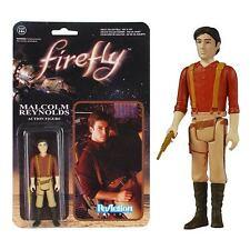 Firefly Serenity Malcolm Mal Reynolds Retro 3-3/4 ReAction Figure by FUNKO
