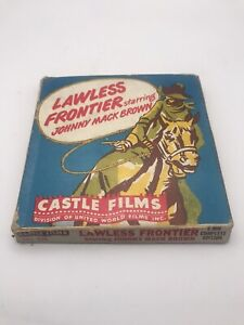 Vintage 8mm Film - Lawless Frontier Starring Johnny Mack Brown Castle Films