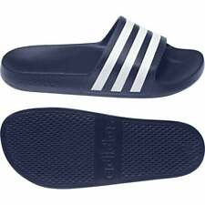Adidas Men's Adilette Aqua Slides Sandals Beach Shoes Flip Flops F35542 Navy