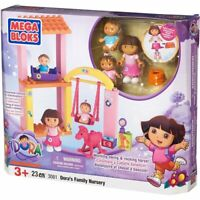 Dora the Explorer Mega Bloks Dora's Family Nursery NEW IN THE BOX