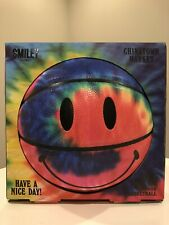 Chinatown Market Basketball Smiley Tie Dye full size Ball multicolor 29.5 Indoor