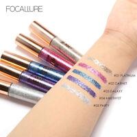 FOCALLURE Glitter Eyeliner Liquid Shining Metallic Eye liner Liquid Pen Makeup