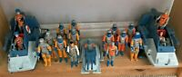 Action Force  GI Joe Space Force Vehicles Accessories Job Lot Army Rare Ex Cond