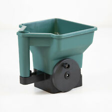 More details for hand held spreader rotary seed machine fertiliser lawn care grass feed dispenser