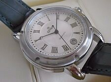 Mint Rare Men's Gevril A0111R Automatic Date Swiss Watch. Box Included. #5274